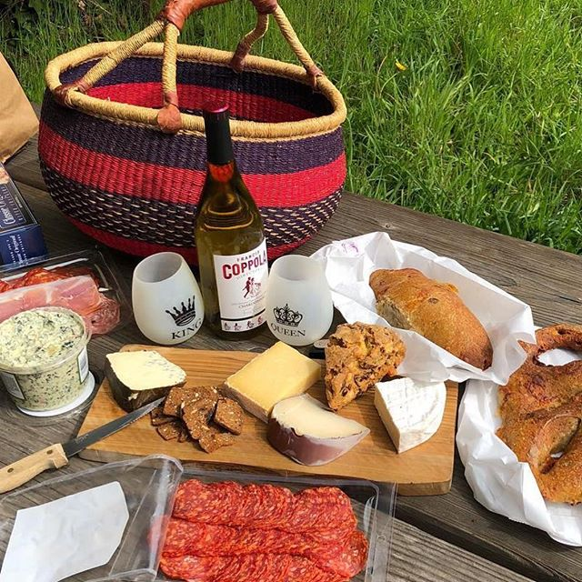 We couldn't agree more with @dreslocaleats ・・・#repost Sunday picnic must haves: bread from Wild Flower Bakery and cheese from @freestoneartisancheese