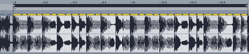 圖片你會看到加了很多低音部分。