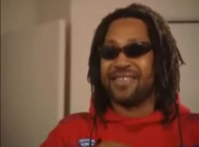 嘻哈之父 DJ Kool Herc (圖片來源: Youtube, Kool DJ Herc - Merry Go Round)