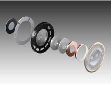 精確呈現低音和清晰的中低頻率,銅鋁線音圈及2000mW的輸入規格能消除失真,即使音量突然提高也不會影響監聽表現。