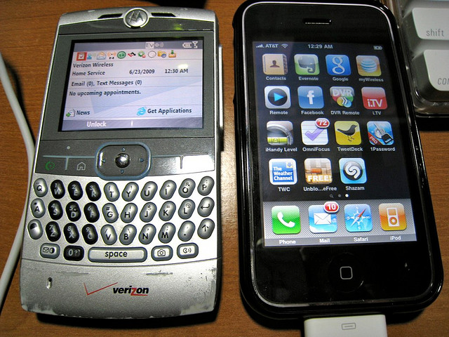 Its seems longer than three years since the iphone changed my life. What a difference compared to my crappy Moto Q.