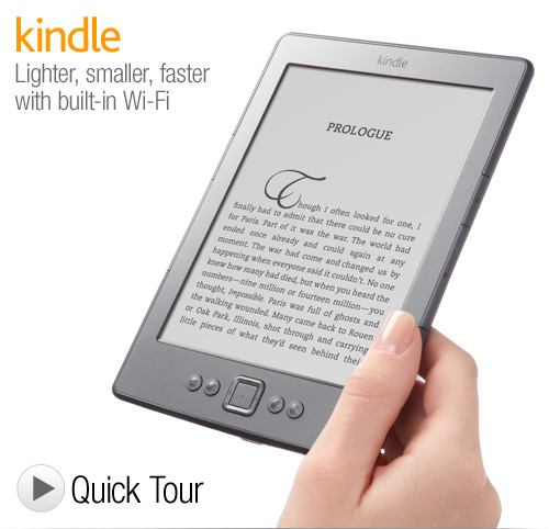 via amazon.com Amazon's latest Kindle eReaders are more than competitively priced and are bound to sell millions(?) of these devices. They have to be selling these devices almost at a loss or break even, but will make it back in Amazon purchases through this device. I think many people will find one (or two) of these under their Christmas tree this year.