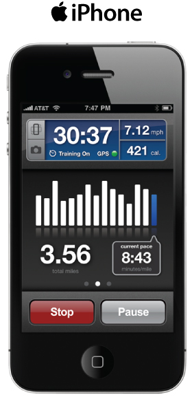 via runkeeper.com RunKeeper is a great app for tracking your walks, hikes, or runs using your GPS enabled iPhone or Droid device. Get the pro version for free this January!