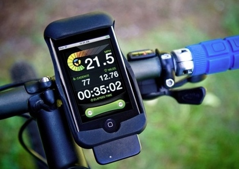 via treehugger.com My $100+ garmin forerunner 50 (https://buy.garmin.com/shop/shop.do?pID=10527) died recently so I'm impatiently waiting for my iPhone Runkeeper app to get ANT+ support for my gamin heart rate monitor - perhaps through the Wahoo Fisica Fitness Sensor for the iPhone: http://www.wahoofitness.com/Fisica/Wahoo-Fitness-Fisica-Fitness-Sensor-Key.asp