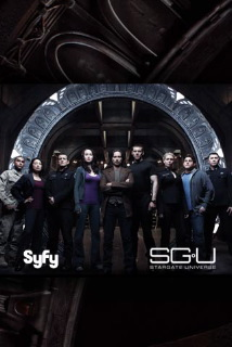 "Stargate Universe Premier on SyFy Stargate Universe (SGU) premiered on SyFy SciFi Friday night.  Unlike SG Atlantis, this promises to be a darker more serious SG if the two hour premier is any indication.  The acting was top notch, especially compared to Atlantis.  Actor Robert Carlyle plays the lead scientist Dr. Nicholas Rush.  Rush seems disaffected and obsessed with walking through the gate using the ninth ""chevron"" address.  Under extraordinary circumstances he dials it and he and about 80 other people are forced to escape through it.  They find themselves stranded on a ship traveling faster than light and thousands of galaxies away.  Of course they managed to bring along some ancient technology that allows them to ""phone home.""  Lame.   Rush seems to have a vision or a plan for his warp across the universe and its saneness is questionable a best.  I can't help but think that I've seen Carlyle play the same type character in another movie.  I'm pretty sure it was in 28 Weeks Later in which his character abandons his wife, whom he loves.. but not that much, to the ravages of the rage virus - zombie-like plague.  (28 Weeks Later is an excellent modern zombie flick.  I recommend it.) Universe isn't all doom and gloom, the other chief nerd who rival Rush's intelligence brings some comic relief.  I foresee him, playing very much the role of Atlantis' Dr. Rodney McKay - one of Atlantis' more real, and endearing characters. Here's to hoping the rest of the series maintains the level of quality and balance between SciFi, drama, and humor as seen in the premier. -- http://www.syfy.com/universe/"