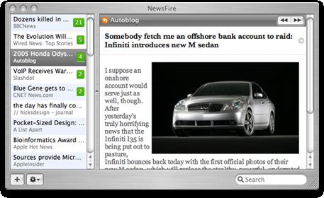 NewsFire RSS Reader