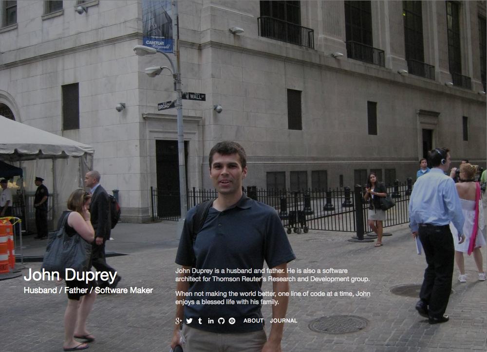 iDuprey.com Home - Feburary 11, 2015