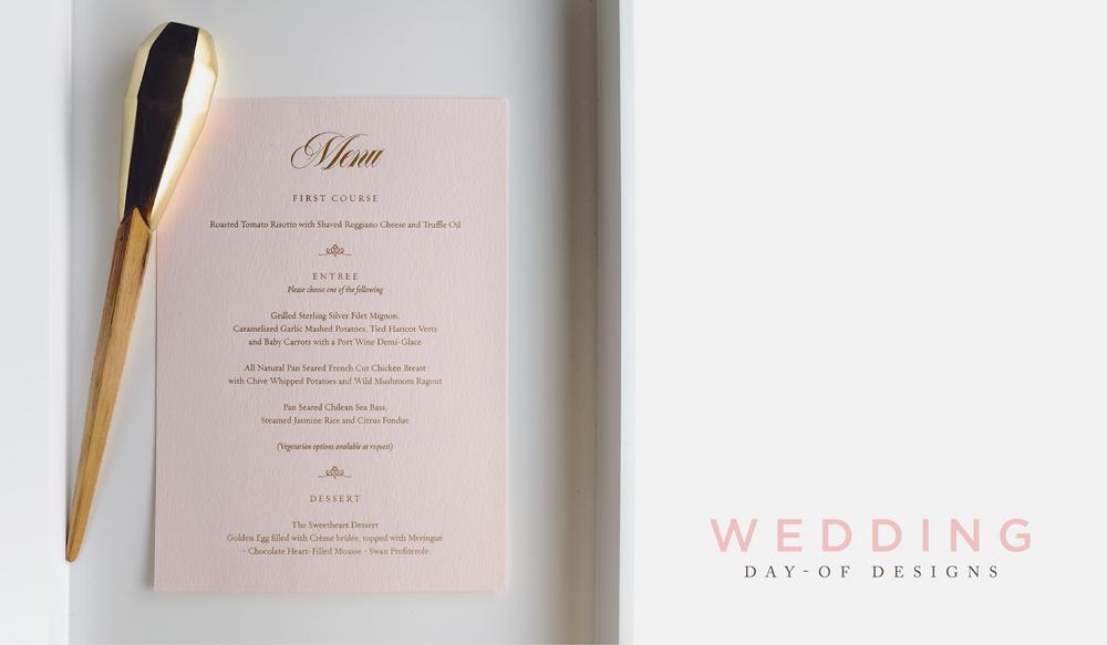 Wedding Day Designs