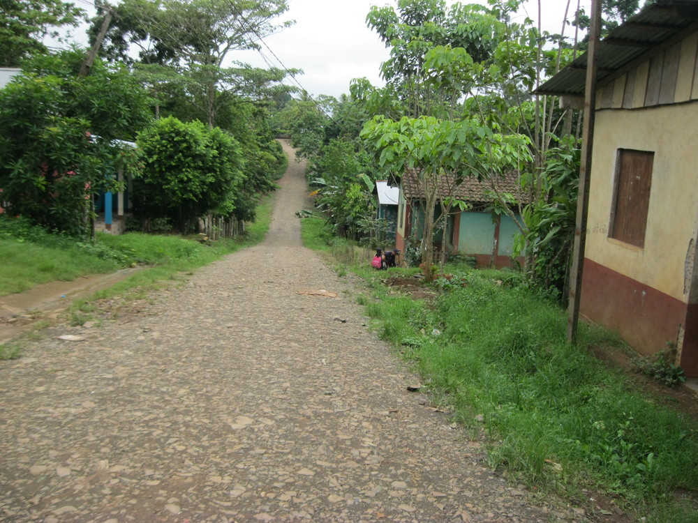 A typical street in Nueva Guinea
