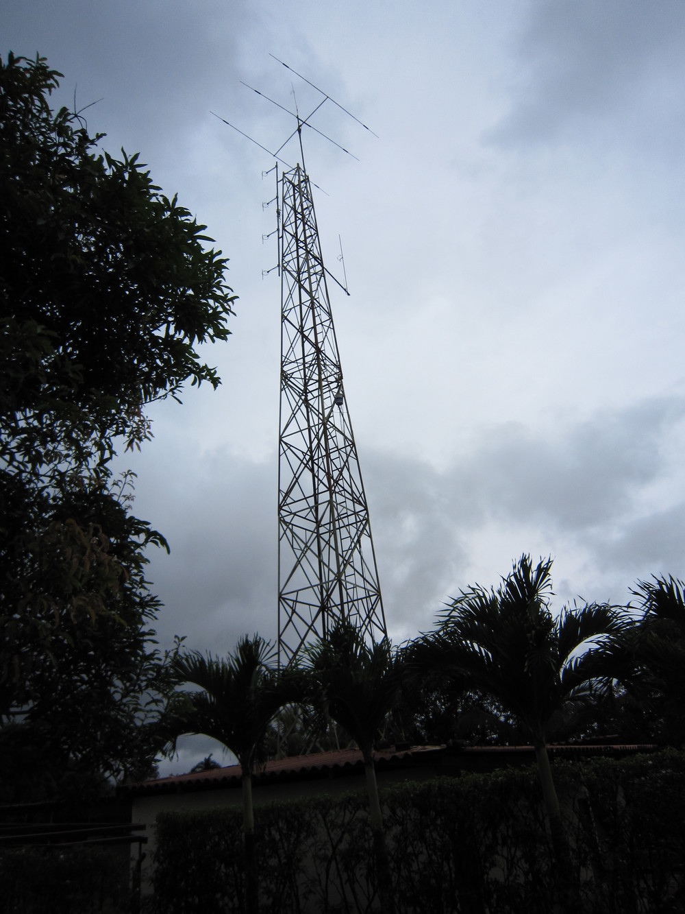 The radio tower