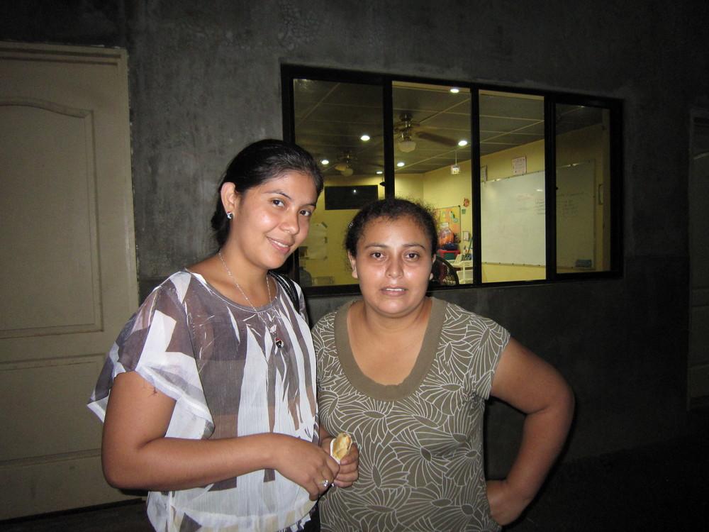 Tanya and Gabriela