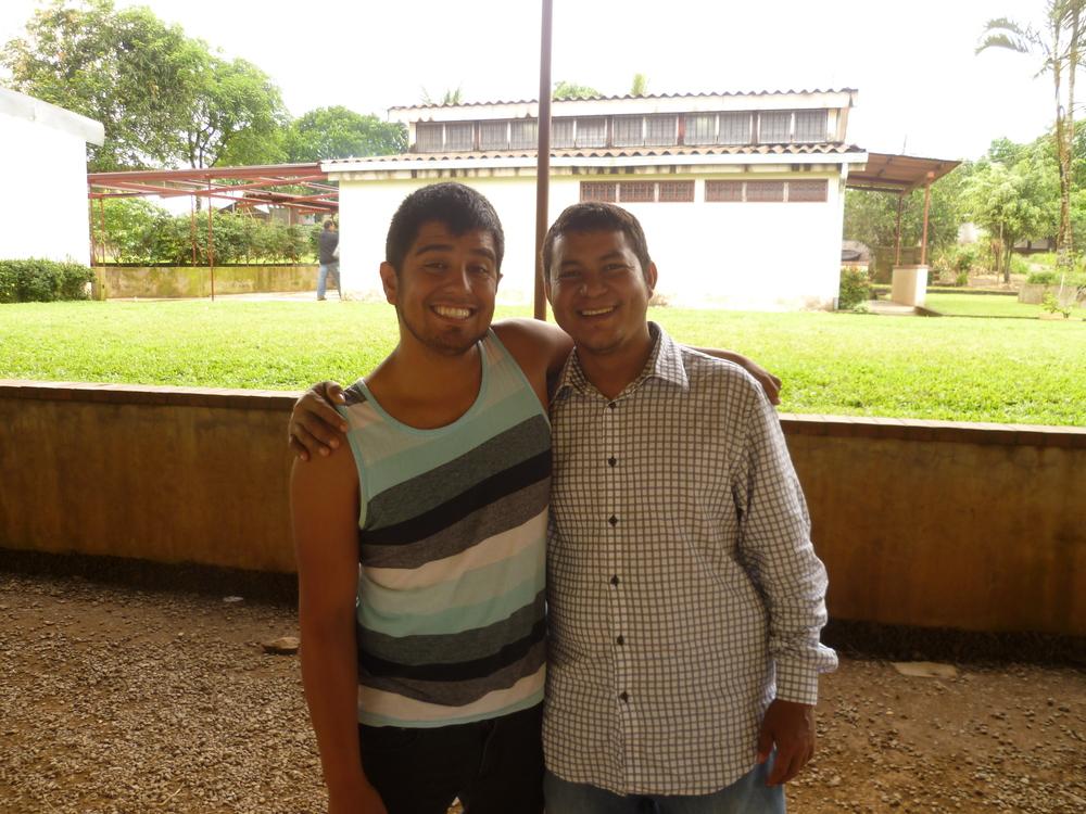 Mark and Pastor Carlos