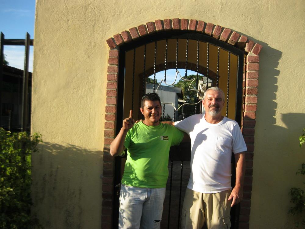 Robert and Pastor Carlos