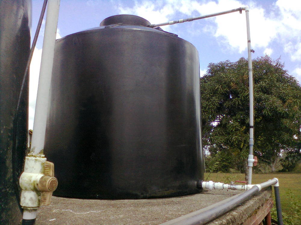 Yeah! New Water Tank thank you Jesus!