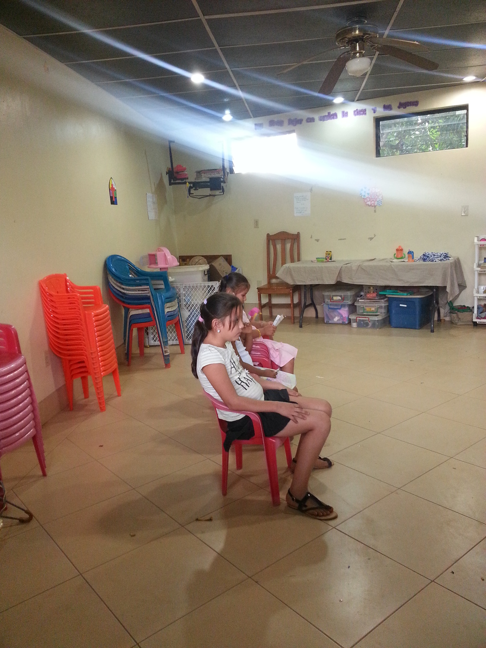 Judith is 12 years old now! And sharing Jesus commands with kids her age and younger!