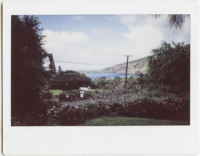 Captain Cook #instant #instax #instaxwide #fujifilm #fujiinstax #instax210 #hawaii #captaincook