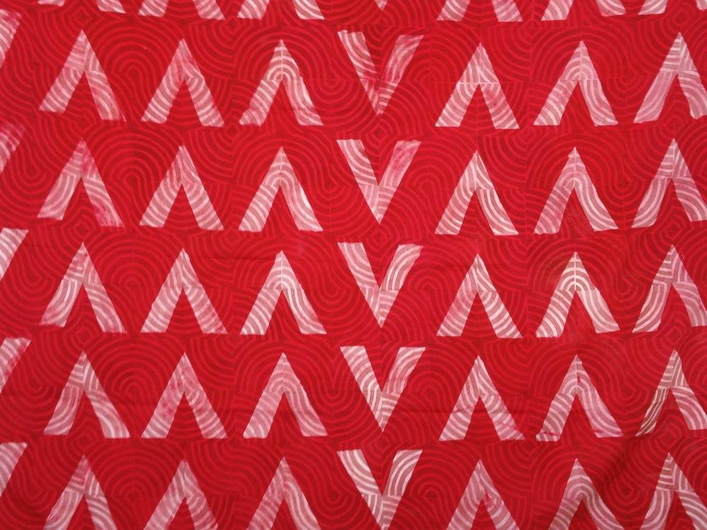 2013. Fiber reactive dye, soy wax, Thiourea dioxide, textile pigments, Habotai silk.