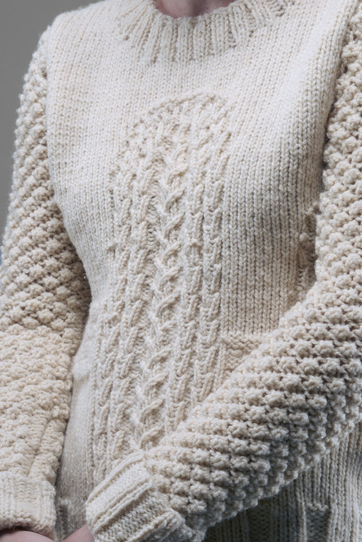 Aran Cactus Sweater, 2015.