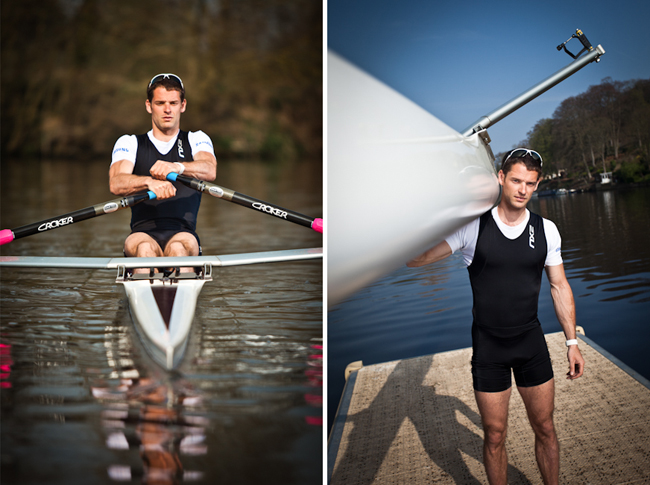 Commercial Photographer Sports Rower Olympic London 2012 Chris Bartley