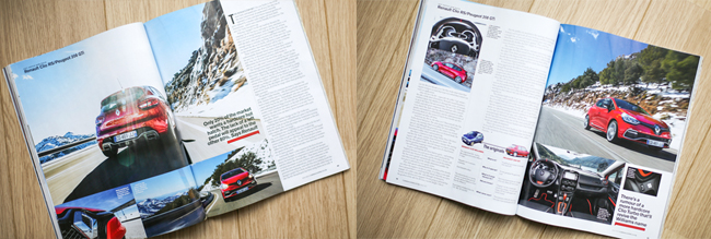 CAR Magazine May 2013 Tearsheet Renaultsport Clio 200 EDC Turbo