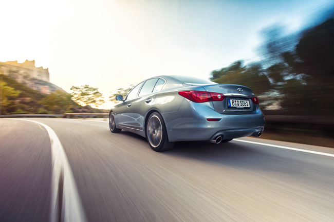 Infiniti Q50 AWD Barcelona Launch
