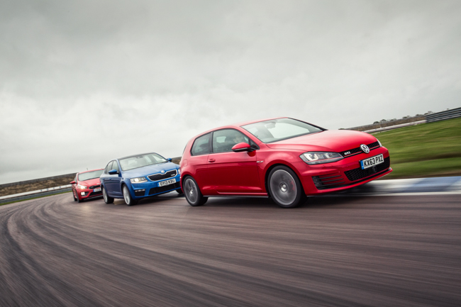 Hot Hatch Group Test Rockingham Kia Skoda VW Golf.jpg