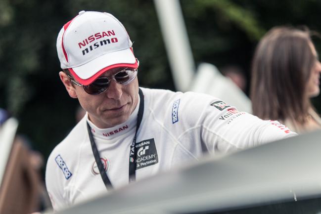 Chris Hoy Nissan Olympian Le Mans GT Academy.jpg