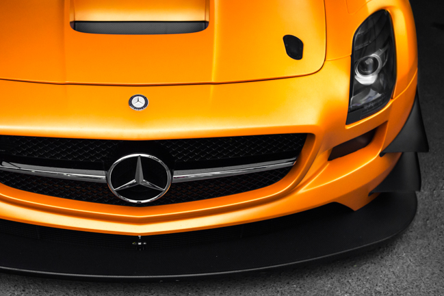 Mercedes SLS AMG GT3 Orange Goodwood FoS.jpg