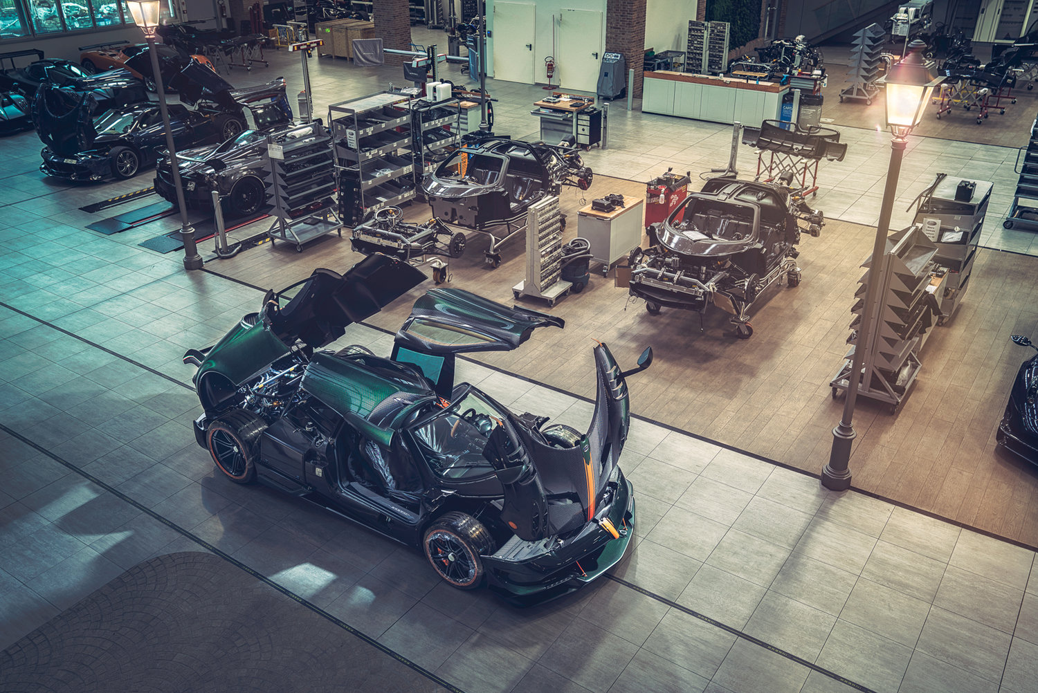 Pagani Factory — Richard Pardon - Car and Portrait Photography