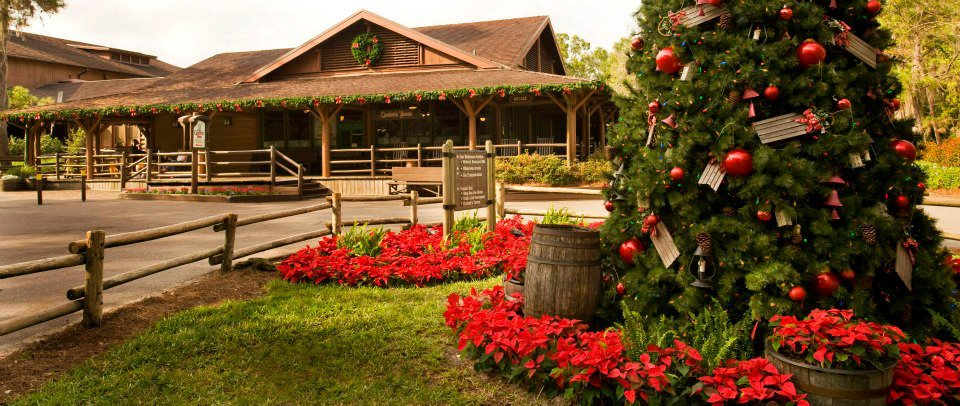 Disney's Fort Wilderness Resort  at Christmastime