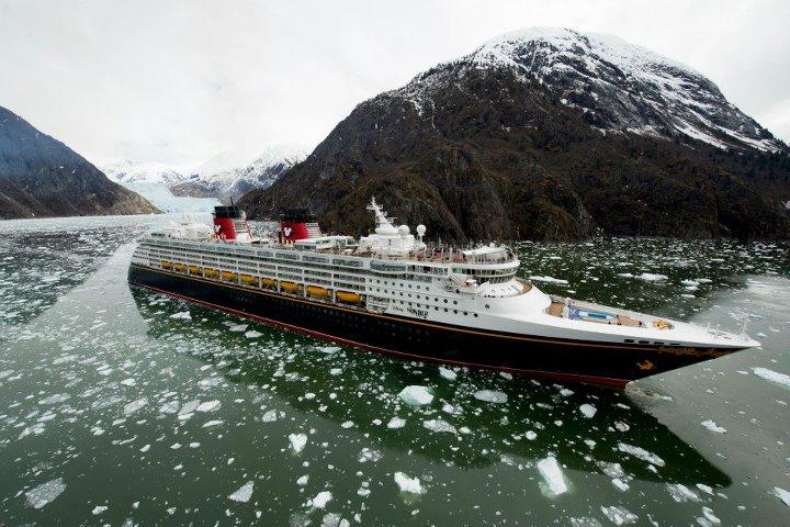 Disney Wonder ®in Alaska