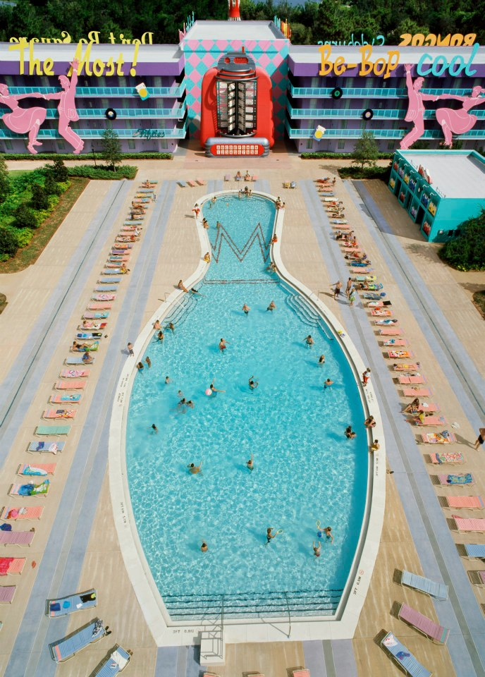 Bowling Pin Pool at Pop Century Resort
