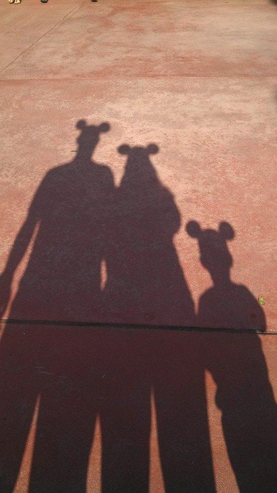 Mickey Ear Shadow