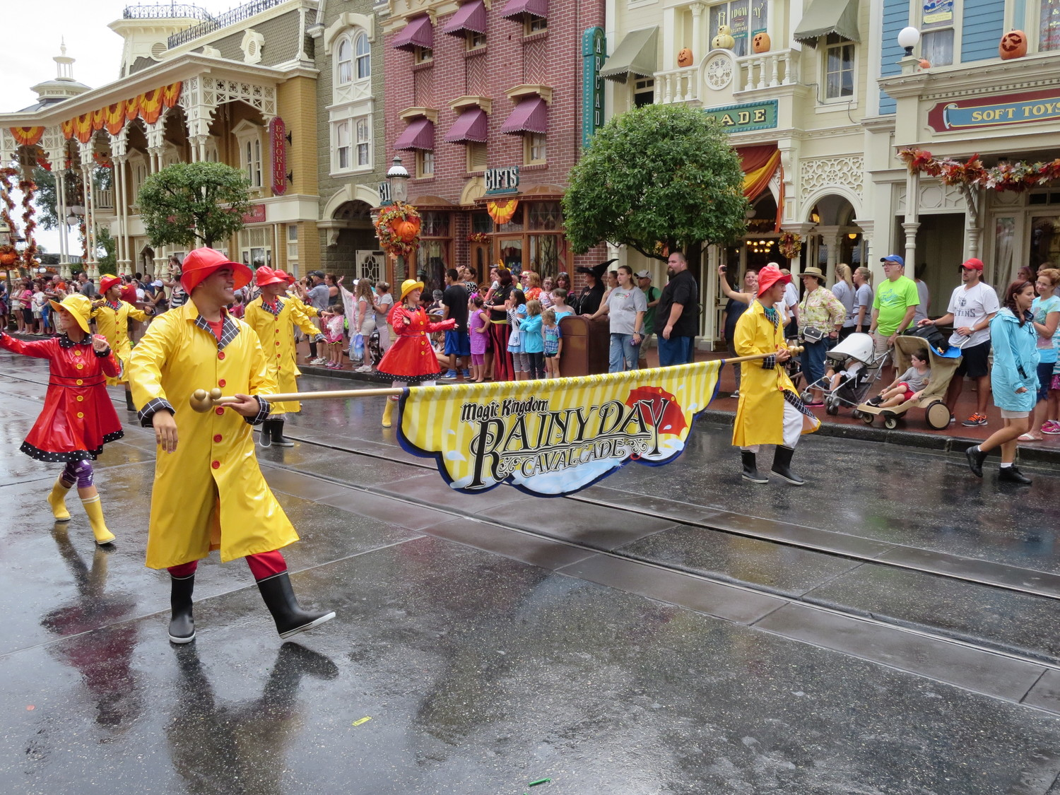Image result for rainy day at disney