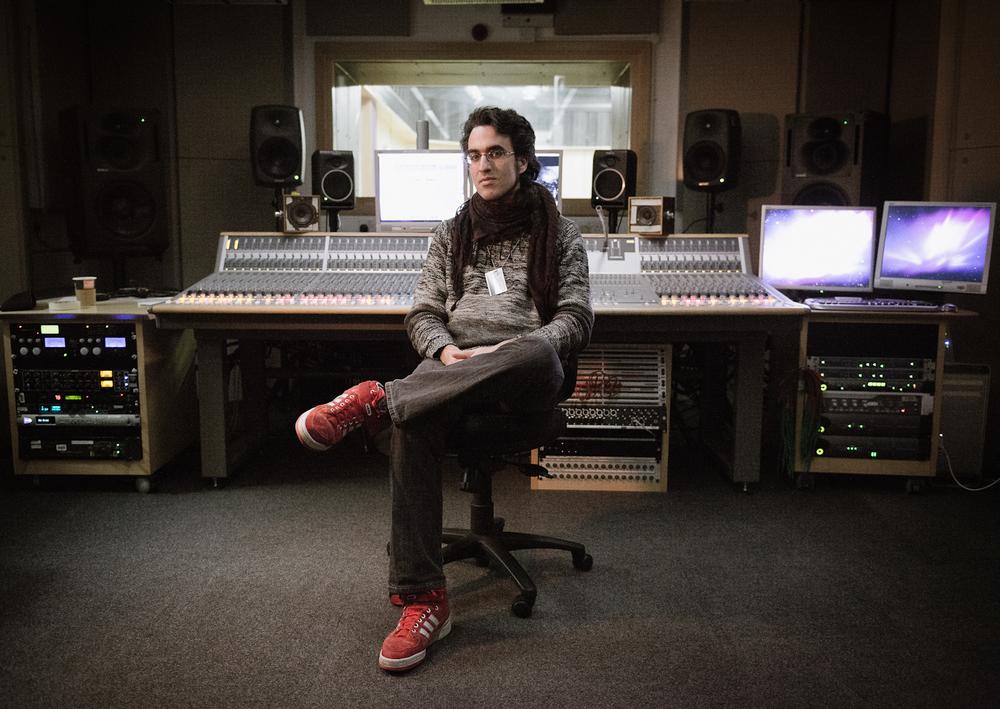 Recording Studio Portrait