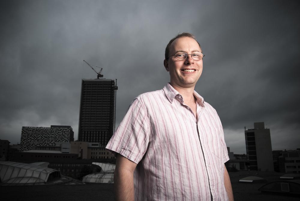Rooftop Corporate Portrait