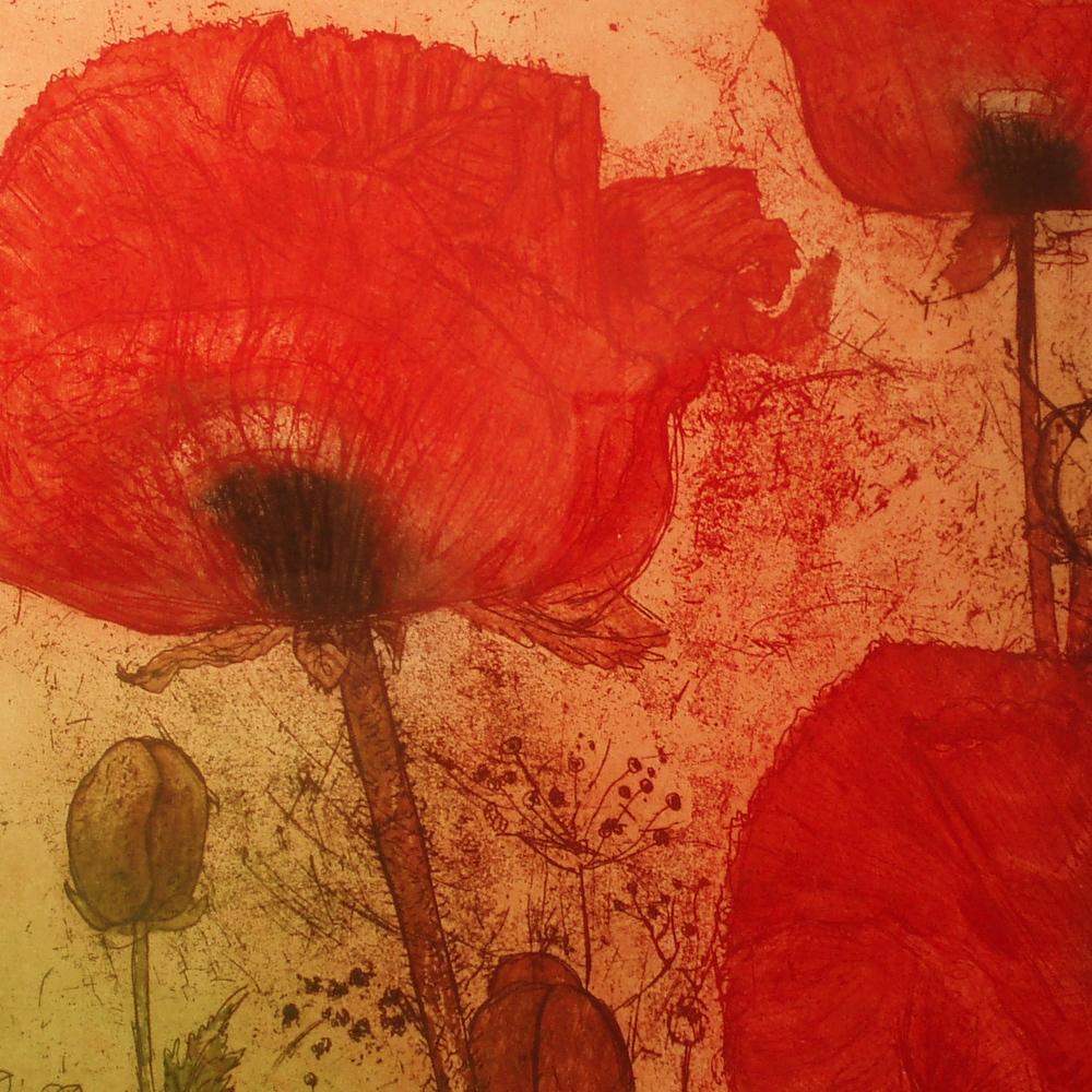 Elizabeth Shepard,  Josephine's Poppies  (detail)