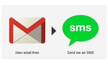 Gmail to SMS Screenshot Ifttt