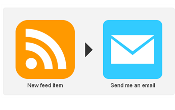 RSS Feed to Email Screenshot Ifttt