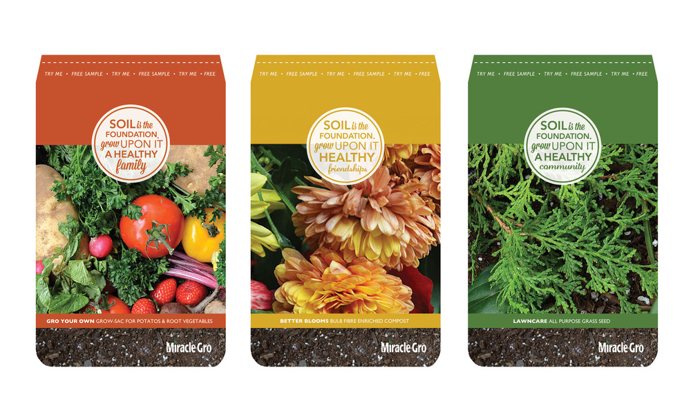 Miracle Gro Sampler Packets