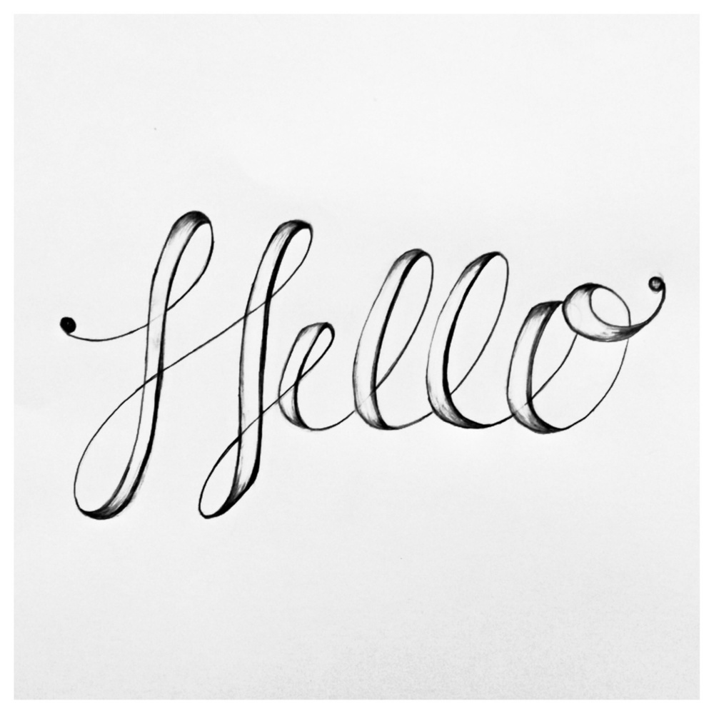 Just a little lettering for fun.    I can't believe I am lucky enough to get to do what I love for a living!