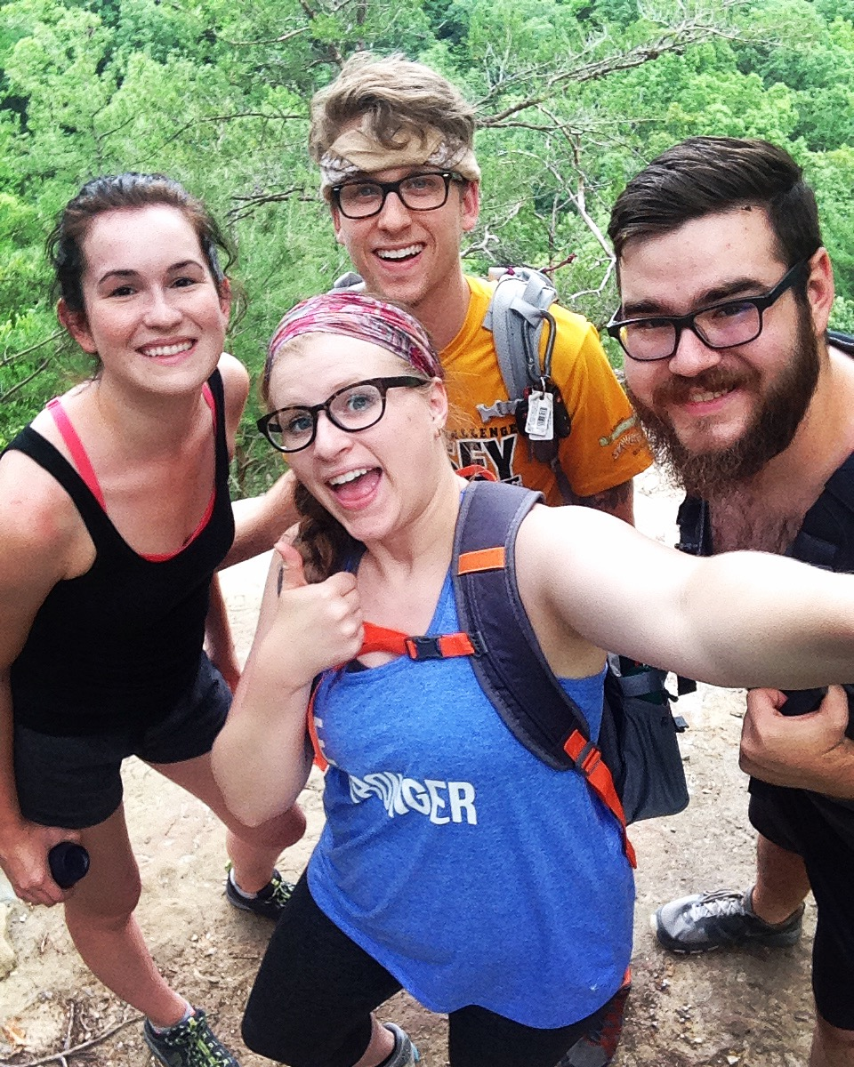 #9 GO HIKING. BE HAPPY. // First trip to Kentucky's Red River Gorge.