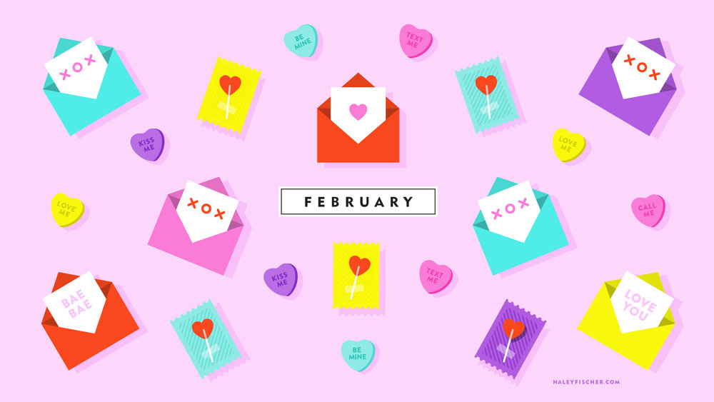 Download February Wallpaper Here