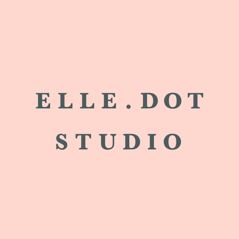 #4 ETSY SHOP // I've wanted to start an Etsy for years, but always put it off. This year I finally did it, and I began to build up my own personal brand — Elle.Dot Studio. Named after my mother & grandmother. Hoping to grow this venture in 2019!  Check it out here.