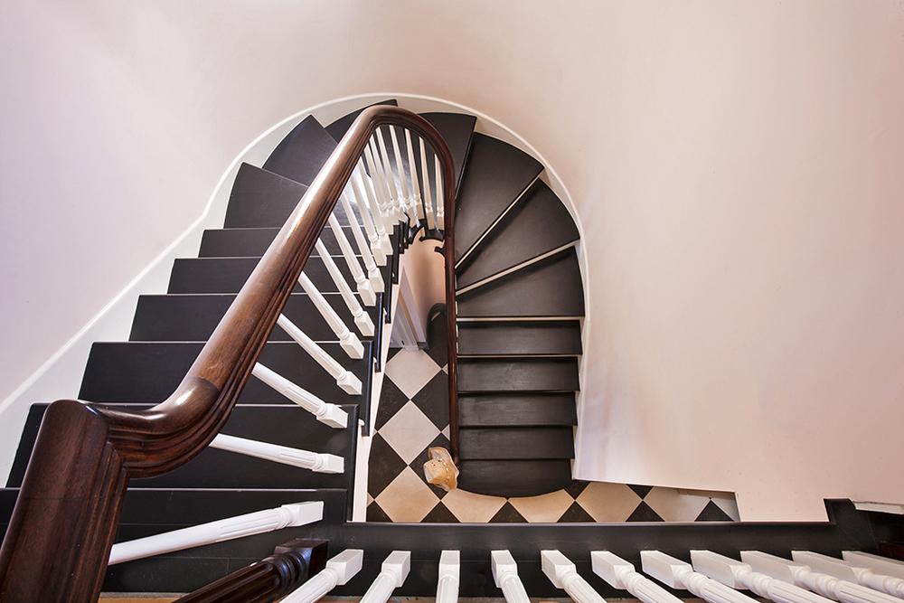 The Mahogany Staircase