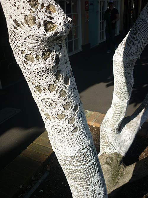 Knitted tree  Laura Knight print designer