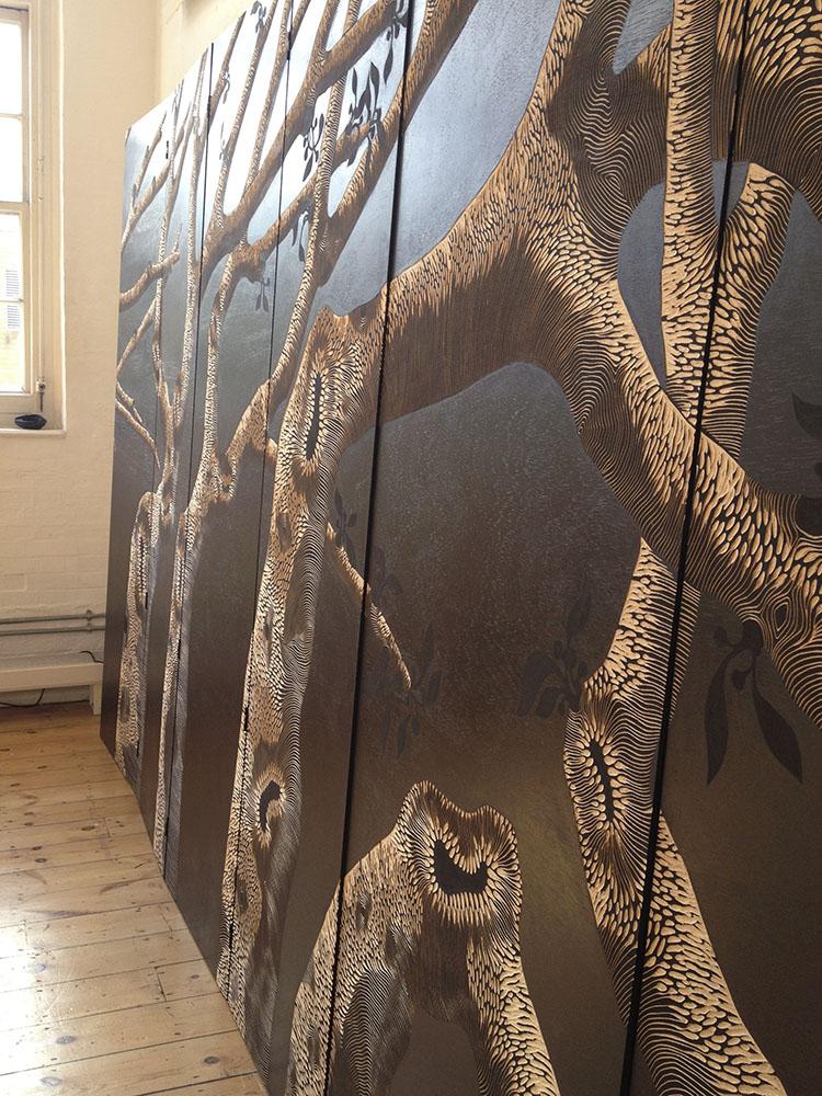 Laura Knight Studio  Textile print Designer  Zoe Ouvrier