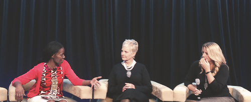 Patricia Amira, Cindy McCain and Kristen Howerton