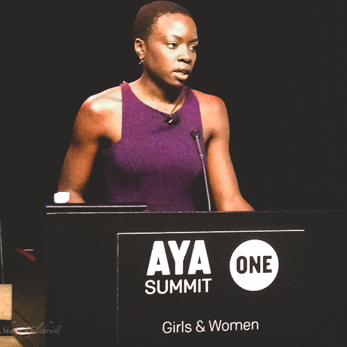 Danai Gurira reading from her forthcoming play about women and the Liberian Civil War