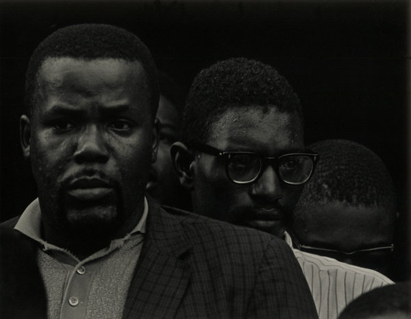 """Five Men, 1964,"" by Roy DeCarava, via nytimes.com"